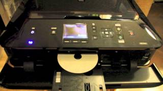 CANON PIXMA MG5450 DVD/CD bedrucken - Direct Disc Print - Direkt CD DVD drucken