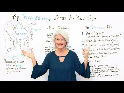 Top Brainstorming Ideas for Your Team - Project Management Training