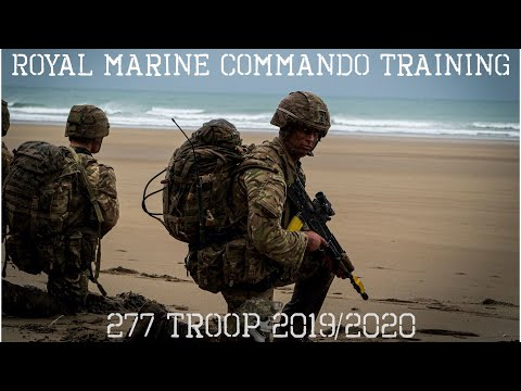 ROYAL MARINE COMMANDO TRAINING 2020 (277 TROOP)