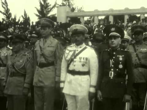 Military Ceremony / Ceremonia Militar 1943 Cuba