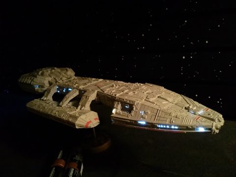 Building of the original Battlestar Galactica