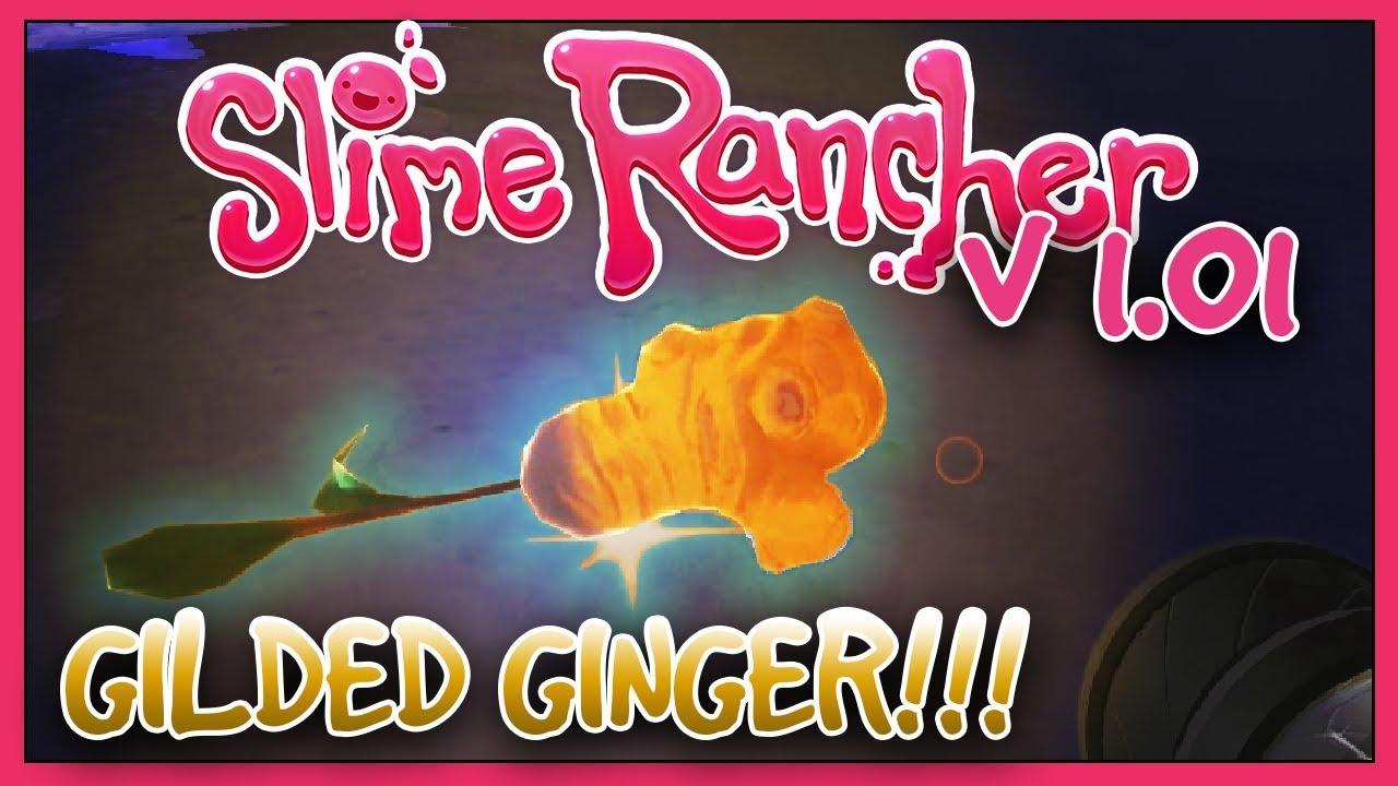 Slime Rancher V 1 0 1 Update Spotlight The Gilded Ginger