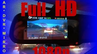 видео Видеозеркало Car DVR Mirror - отзывы и характеристики