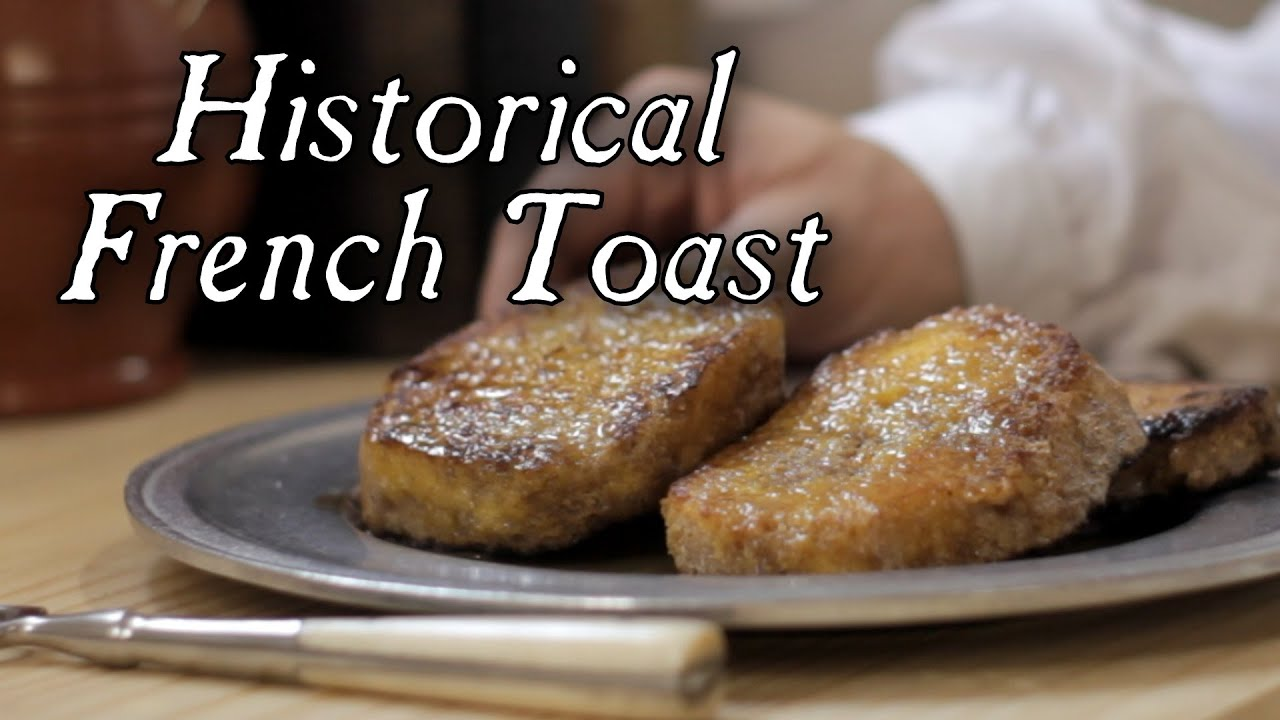 Pain perdu historical french toast 18th century cooking s2e19 pain perdu historical french toast 18th century cooking s2e19 youtube ccuart Images