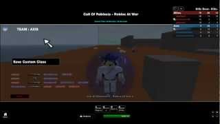 Roblox: COD 5 roblox at war gameplay