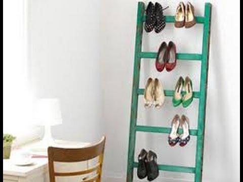 Como hacer un organizador de zapatos casero 4 youtube - Como hacer un organizador de zapatos casero ...