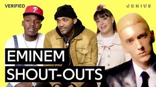 The Best Eminem Shout-Outs | Verified