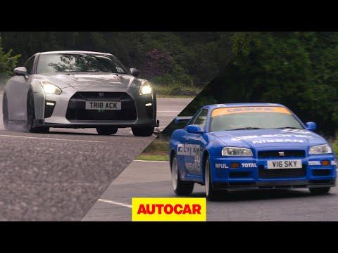 Nissan Skyline GT-R Review | R34 Skyline V R35 GT-R | Autocar Heroes