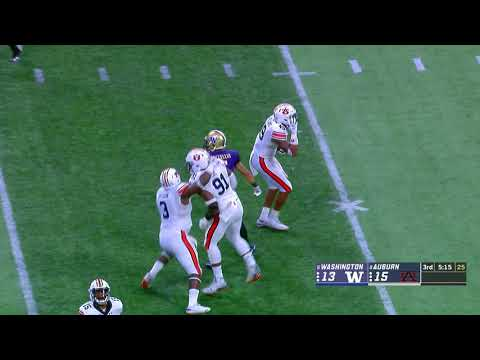 Auburn Sports - Auburn 21 Washington 16 | Recap&Highlights