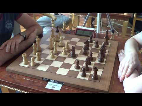 GM Arturs Neiksans - GM Vladimir Fedoseev, Najdorf Sicilian English Attack, Rapid chess, PART I