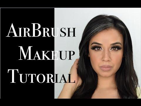Temptu Airbrush Makeup Tutorial