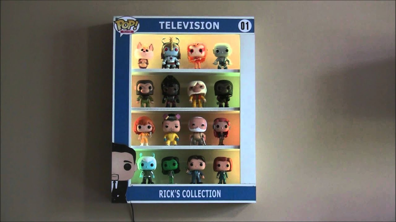 Custom Pop Display Case For Funko Pop With Led Lights