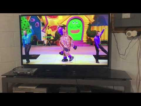 The wiggles wiggle dancing live in the USA 2006 dvd