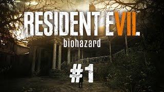 Resident Evil 7 Gameplay German #1 - Let