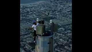 Dubai Expo- Crown Prince at Top of Burj Khaleefa!
