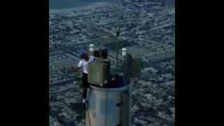 Dubai Expo- Crown Prince at Top of Burj Khaleefa!