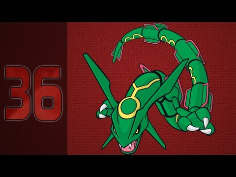 Pokémon Ruby - 36: Legendary Pokémon Rayquaza / Sky Pillar