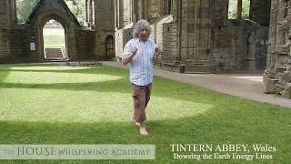 Tintern Abbey Dowsing the Earth Energy Lines - Christian Kyriacou