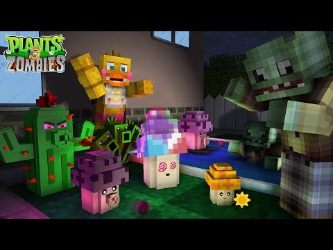 FNAF Monster School: Plants vs Zombies 3!🌻🌵🍄 - Minecraft Animation