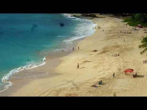 Tropical Beaches - Travel Oahu Hawaii - Panoramic Views of Turtle Beach - Hawaiian Islands