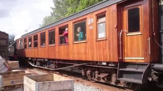 Steam locomotive type 18c 255 at Haukeland