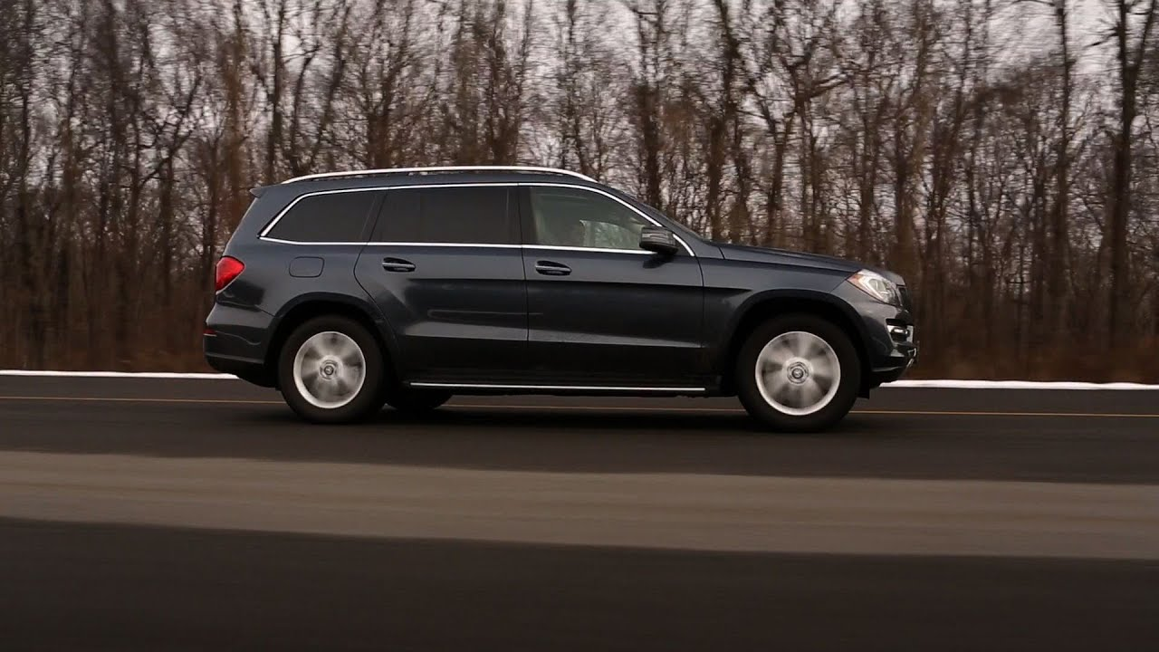 Mercedes-Benz GL350 BlueTec stumbles in emergency handling