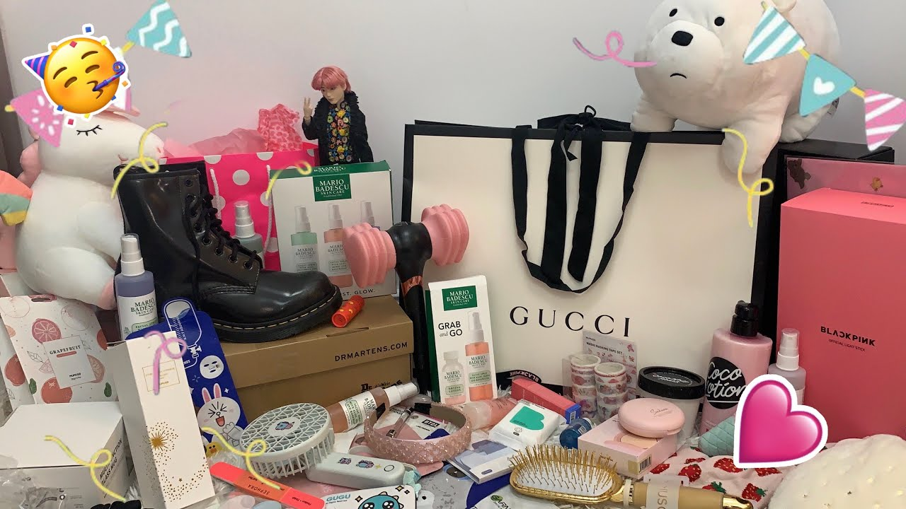 CE AM PRIMIT DE ZIUA MEA 2020 💜🥳🛍|| What I got for my 14th birthday 💕 || Haul Sandy