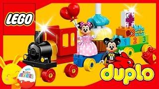 Le train de Mickey et Minnie - Lego Duplo - Jouet pour enfants