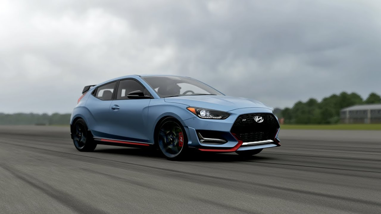 Test drive / digital review of 2018 Hyundai Veloster N in Forza Motorsport 7