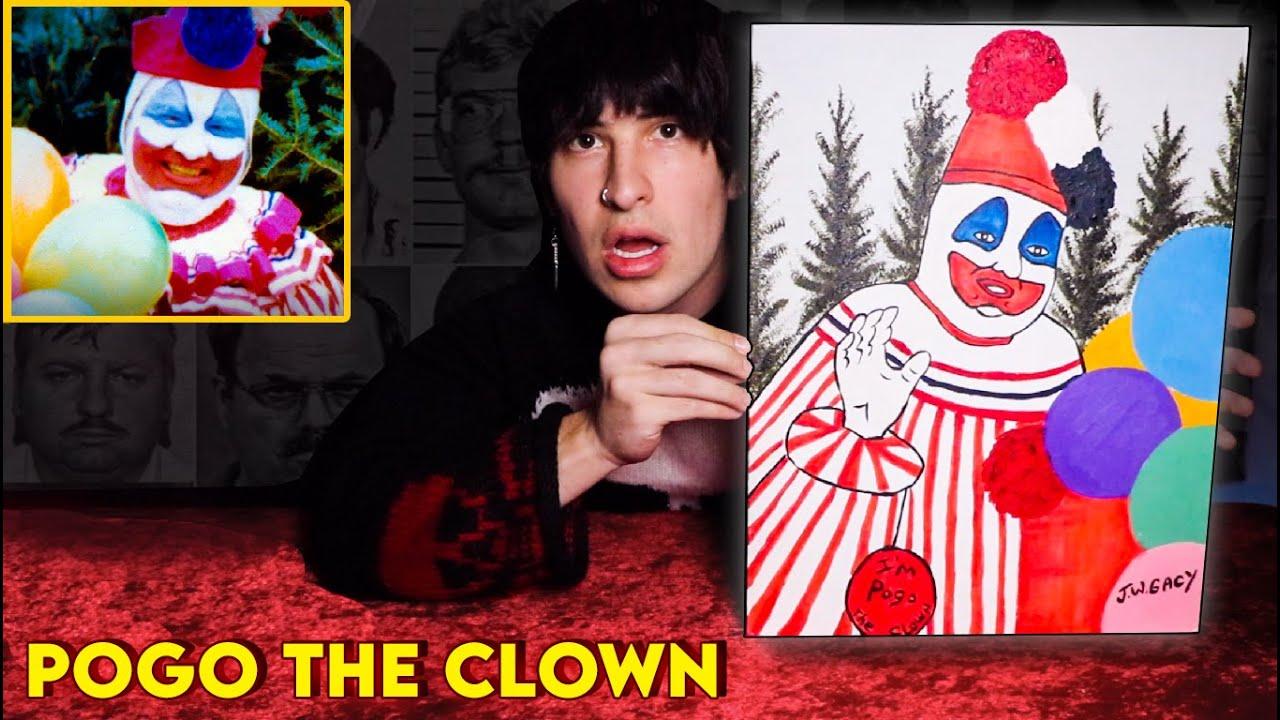 "Unboxing The John Wayne Gacy ""Pogo The Clown"" Painting"