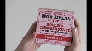 Bob Dylan / Rolling Thunder Revue: The 1975 Live Recordings unboxing video