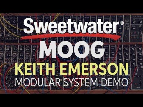 Moog Keith Emerson Modular System Demo