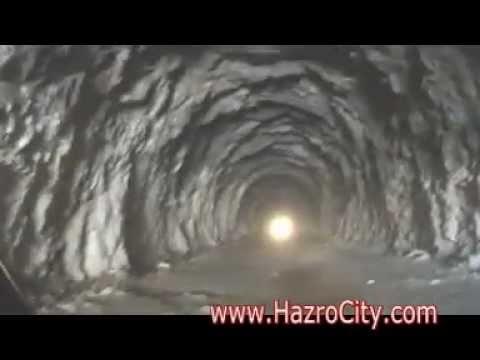Inside of Lowari Tunnel (Under Construction) Very Dangerous Tunnel.