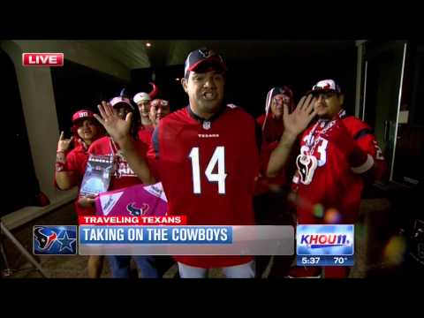 Traveling Texans on KHOU 10 3 2014