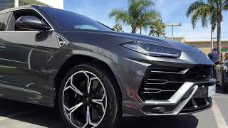 2018 Lamborghini URUS — perfect for James Bond?