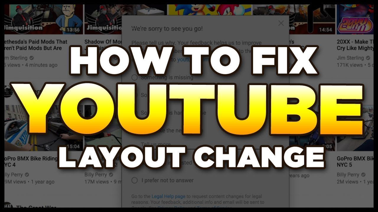 YOUTUBE    PLS    How to Fix & Feedback new style change - YouTube