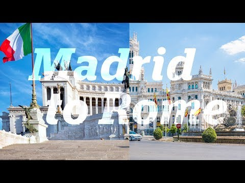 Europe travel guide: Madrid to Rome by road