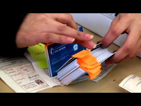 Cash cards for displaced families in Iraq