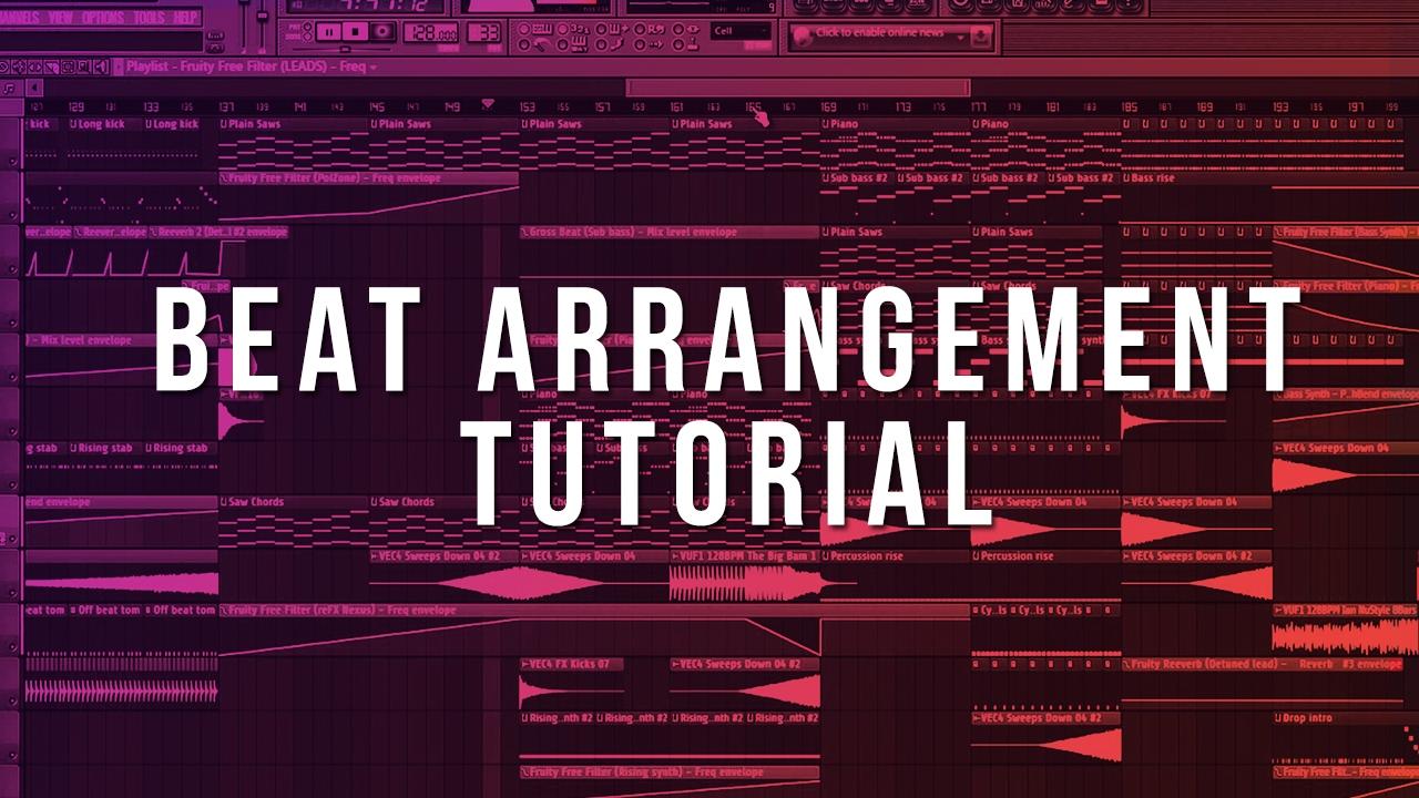 How To Arrange Beats (FL Studio Tutorial)
