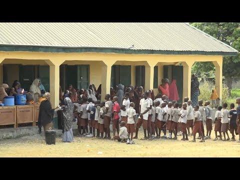 FG Kicks Off School Feeding Programme In Niger State |News Across Nigeria|
