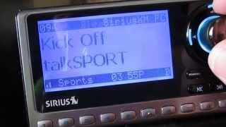Sirius SP3 Receiver (LIFETIME SUBSCRIPTION)