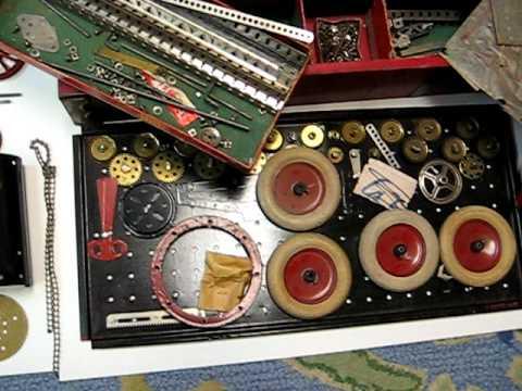 Classic Era 1928-1929 Erector Sets  at Anna