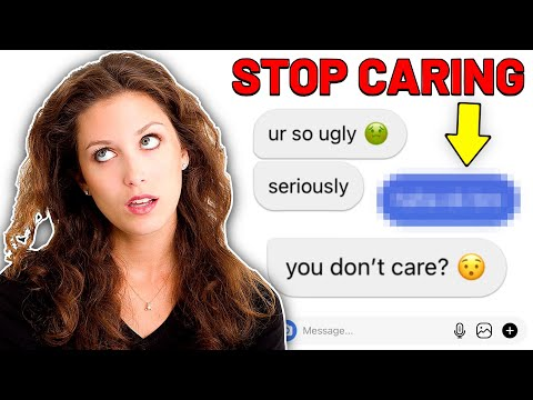 THIS is How to NEVER Care What ANYONE Thinks, EVER Again!   How to Stop Caring What People Think