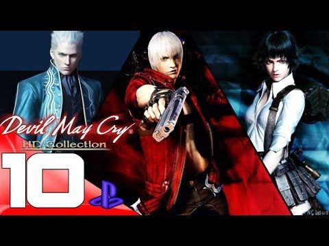 Devil May Cry 3 HDC - Gameplay Walkthrough Part 10 [1080p HD PS4]