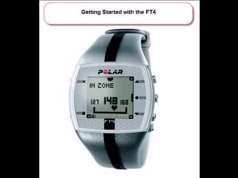Polar FT4 Heart Rate Monitor: Getting Started