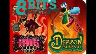 Rayman Legends: Dragon Slayer y Gira Mundial De Las Abuelitas Edicion 8 bits