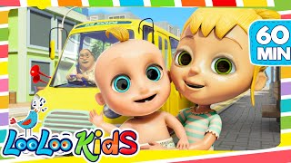 Download The Wheels On The Bus - Cool Songs for Children | LooLoo Kids MP3 song and Music Video