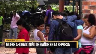 Muere ahogado niño de 9 años en La Represa