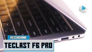 Recensione Teclast F6 Pro notebook convertibile 2in1
