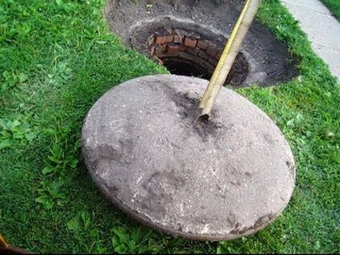 Recycling Rain Water Un Earthing A Cistern Buried For